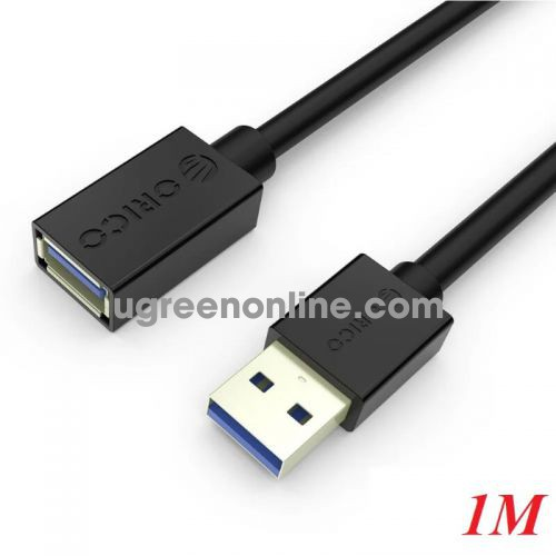 Orico CER3-10-BK 1M Cáp nối dài màu đen chuẩn USB 3.0 sang USB 3.0 - 98050 10098050