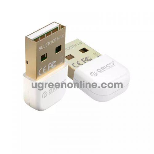 Orico Bta-403-Wh Thiết Bị Kết Nối Bluetooth 4.0 Usb Trắng - Usb Bluetooth Adapter 4.0 Portable Bluetooth 4.0 Adapter For Win 7 8 10 - 98217 10098217