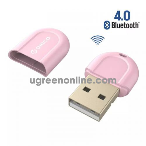 Orico Bta-408-Pk Thiết Bị Kết Nối Bluetooth 4.0 Usb Hồng - Fashionable Portable Mini Usb Bluetooth 4.0 Adapter Receiver For Laptop Desktop Pc - 95232