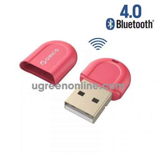Orico Bta-408-Rd Thiết Bị Kết Nối Bluetooth 4.0 Usb Đỏ - Fashionable Portable Mini Usb Bluetooth 4.0 Adapter Receiver For Laptop Desktop Pc - 98198