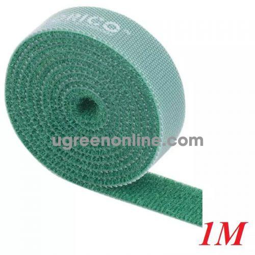 Orico Cbt-1S-Gr Băng Khóa Dán Dài 1M Xanh Lá - Re-Usable Green 1M Velcro Cable Ties - 97933 10097933