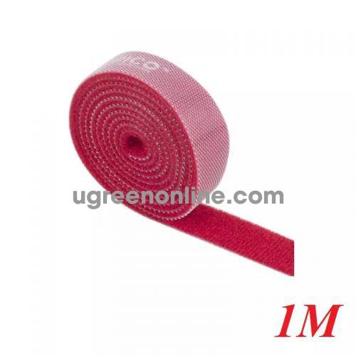Orico Cbt-1S-Rd Băng Khóa Dán Dài 1M Đỏ - Re-Usable Red 1M Velcro Cable Ties - 95251 10095251