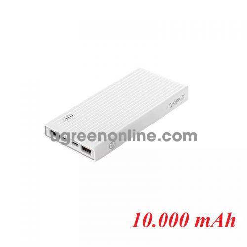 Orico K10000-Wh Pin Sạc Dự Phòng 10 000Mah Trắng 1 Cổng Type C 1 Cổng Usb Sạc Nhanh - 95865