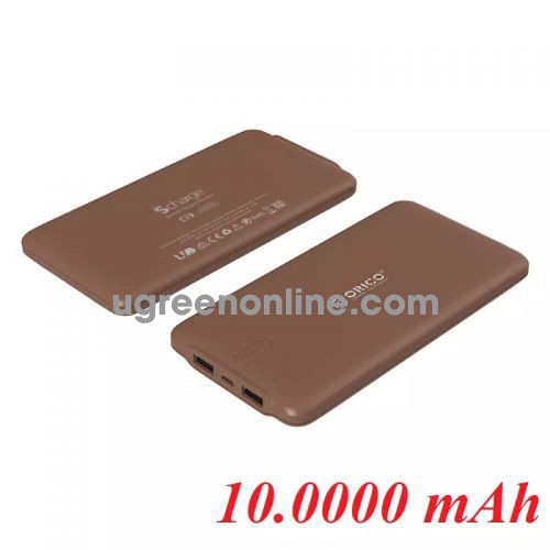 Orico Ld100-Cf Pin Sạc Dự Phòng 10 000Mah Coffe -Smart Charging Portable Power Bank In Coffee - 96005
