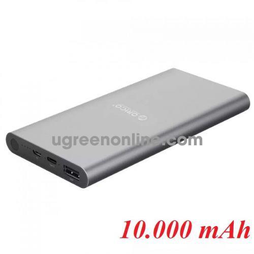 Orico T1-V-Bk Pin Sạc Dự Phòng 10 000Mah Type C Đen Sạc Được Macbook - 95538