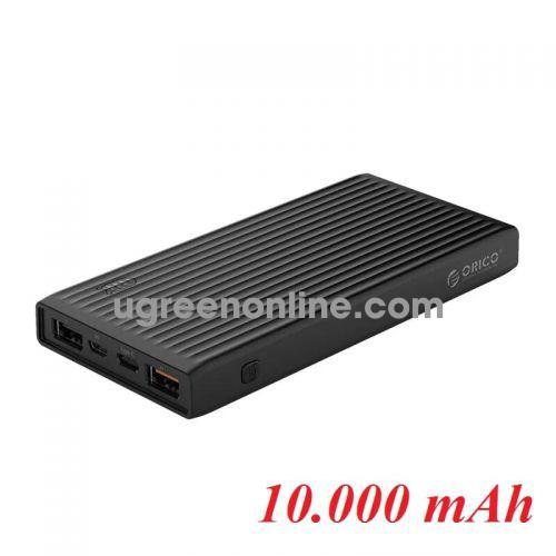Orico K10000-BK 10.000mAh Pin sạc dự phòng 18W Màu Đen - 96565