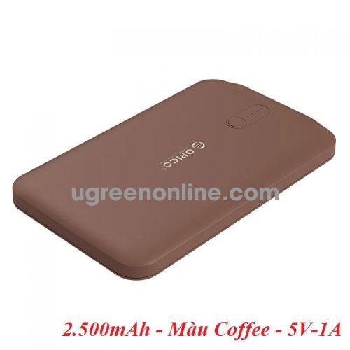 Orico LD25-CF 2500mAh Màu Coffee Pin Sạc Dự Phòng - 97609
