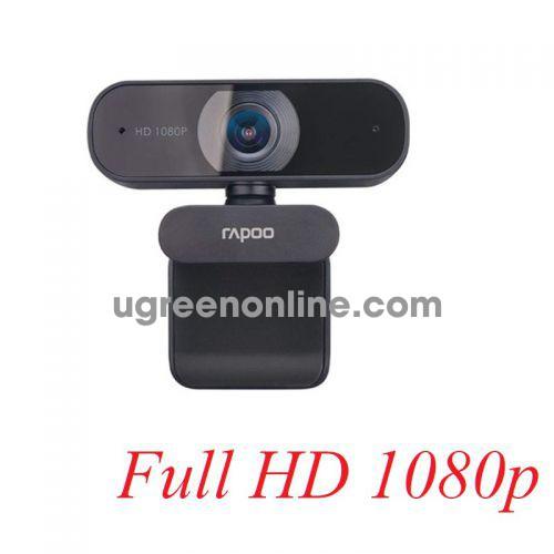 Rapoo c260 Webcam ống kính hỗn hợp độ phân giải FullHD 29071 10029071