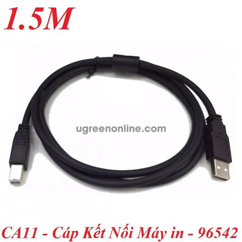 KM 1.5M Màu Đen Cáp Máy in USB A to B Cable - 96542