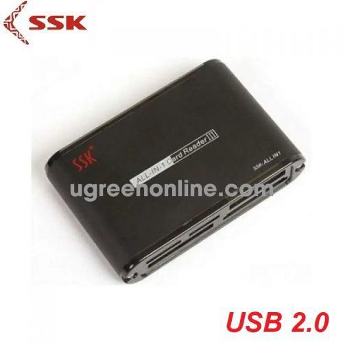 SSK SCRM-0712 Màu Đen Đầu đọc thẻ nhớ 98273 10098273