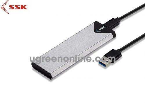 SSK SHE-C-320 Box đựng ổ cứng M2 SSD Sata 95158 10095158