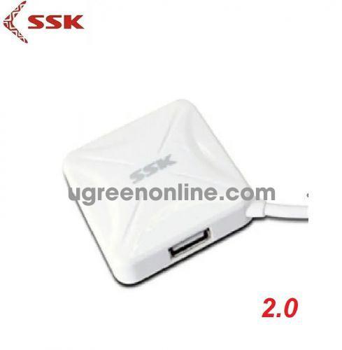 SSK SHU-027 Màu TRắng Hub chia 4 cổng USB 95831 10095831