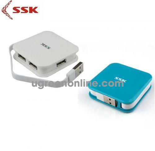 SSK SHU-035 Màu Trắng Hub chia 4 cổng USB 98205 10098205