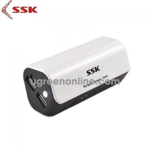 SSK SRBC-516 7800Mah Màu Trắng Pin Sạc dự Phòng 96397 10096397
