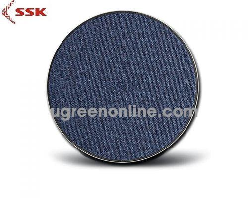 SSK SWC-010 10V Màu Đen Tím ĐẾ SẠC WIRELESS SMARTPHONE 97202 10097202