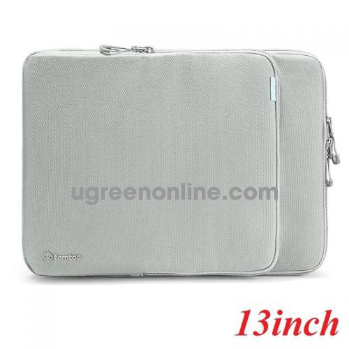 """Tomtoc H13-C02G Túi đeo TOMTOC Protection Premium MB Pro/Air 13"""" New Gray ( H13-C02G ) GKOL 85659"""