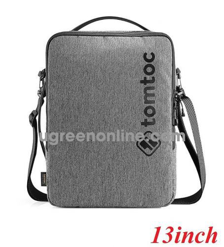 Tomtoc H14-C01G Túi đeo chéo Tomtoc Urban shoulder bag for Ultrabook 13''Gray ( H14-C01G ) GKOL 86152