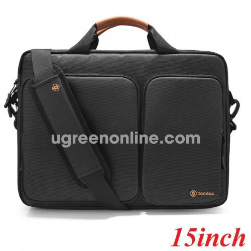 Tomtoc A49-E01D Túi xách TOMTOC Travel briefcase for ultrabook 15' Black ( A49-E01D ) GKOL 86345