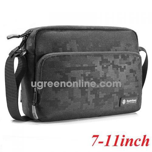 Tomtoc 87632 A02-001D Túi đeo chéo TOMTOC Lightwight cross Body IPAD/TABLET Black ( A02-001D )10087632