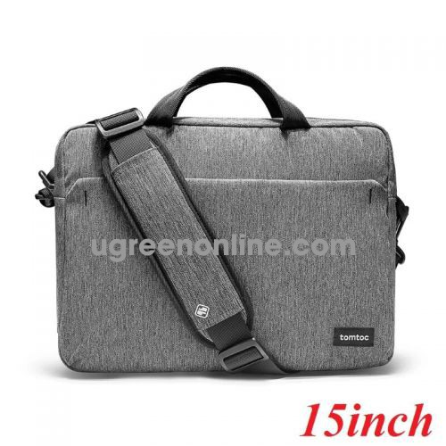 Tomtoc A51-E01G TÚI XÁCH TOMTOC SHOULDER BAG FOR ULTRABOOK 15″ GRAY ( A51-E01G ) GKOL 87831