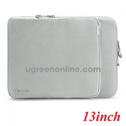"""Tomtoc H13-C02G01 Túi đeo TOMTOC Protection Premium MB Pro/Air 13"""" New Gray ( H13-C02G01 ) GKOL 88066"""