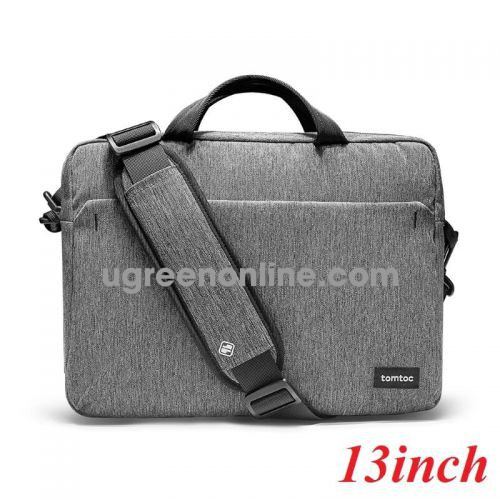 Tomtoc A51-C01G TÚI XÁCH TOMTOC SHOULDER BAG FOR ULTRABOOK 13″ GRAY ( A51-C01G ) GKOL 88240