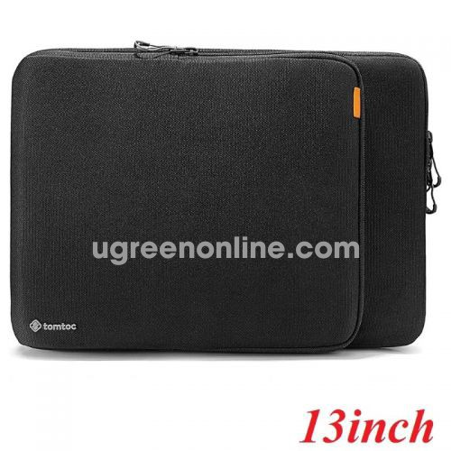 "Tomtoc H13-C02D01 Túi đeo TOMTOC Protection Premium MB Pro/Air 13"" New Black ( H13-C02D01 ) GKOL 88245"