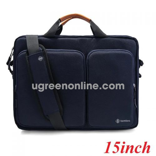 Tomtoc A49-E01B Túi xách TOMTOC Travel briefcase for ultrabook 15' Dark Blue ( A49-E01B ) GKOL 88849 10088849