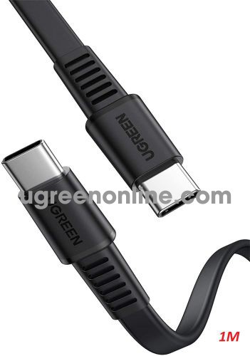Ugreen 10974 0.5m PD 20v 3A usb type c to usb type c Cable US333 10010974