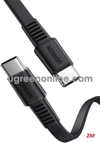 Ugreen 10976 2m PD 20v 3A usb type c to usb type c Cable US333 10010976