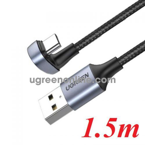 Ugreen 70314 1.5m U Shape Black Fast Charging USB A to type C Cable US311 10070314