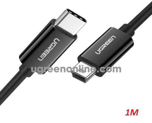 Ugreen 50445 1M USB type C to Mini USB Cable Black US242 10050445