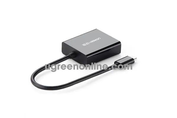 Ugreen 20587 15cm usb c to hdmi adapter đen 40273