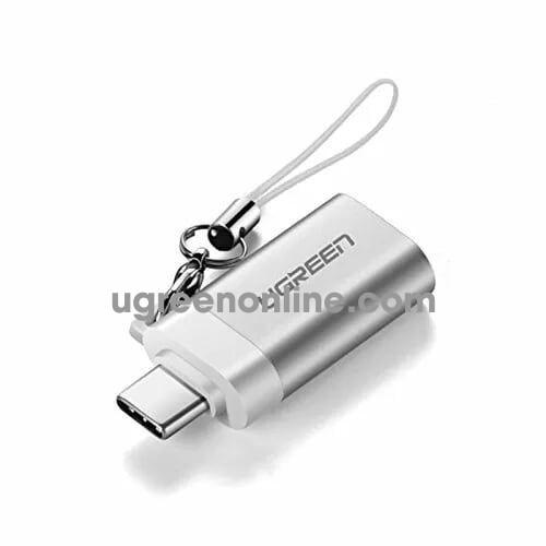 Ugreen 50284 type c male to usb 3.0 adapter bạc us270