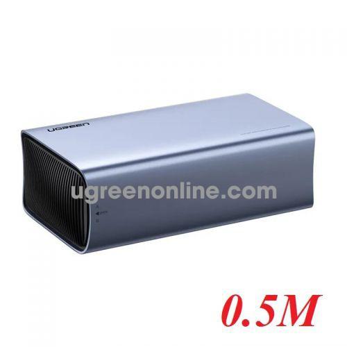 Ugreen 60532 dual bay usb type c 3.1 hard drive enclosure support raid CM249