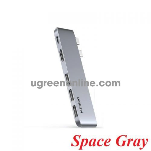 Ugreen 60559 Space Gray Type C Pro Hub 4K for Macbook Pro / Air 16
