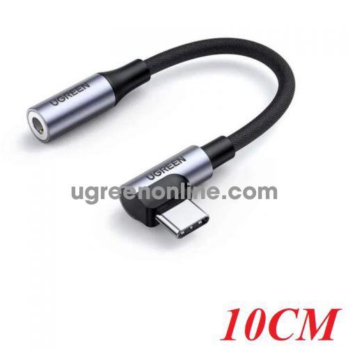 Ugreen 80723 USB Type-C adapter 90 degrees to 3.5mm Audio AV167 10080723