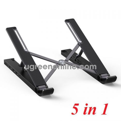 Ugreen 80551 5 In 1 Without Pd Laptop Stand Docking Station CM359 10080551