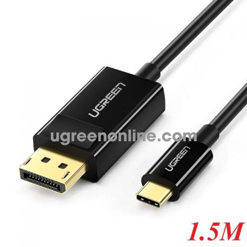 Ugreen 50994 1.5m usb type c to dp cable black mm139