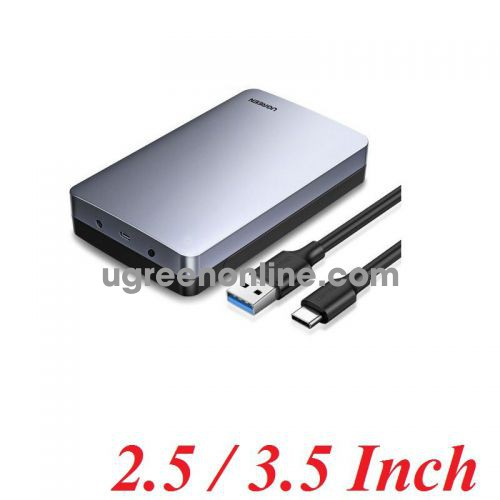 Ugreen 70501 Type C to Usb 3.1 Gen2 3.5 Inch Hard Drive Enclosure 6Gb CM301 10070501