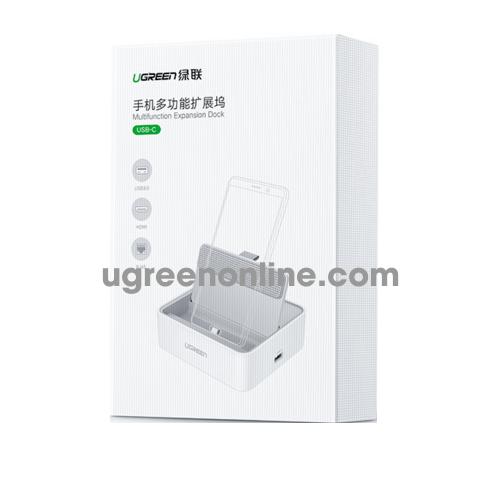 Ugreen 50597 usb c multifunctional converter trắng cm194