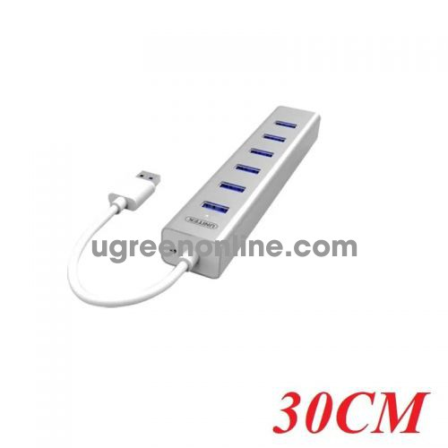 Unitek Y-3090 30CM Hub Usb 2.0 7 Ports - 95643