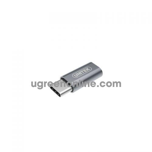 Unitek Y-A027AGY Đầu Đổi Type-C To Micro - 95797