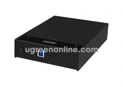Unitek 25665 Y-1090 Usb 3.0 To Sata Iii 2.5 - 3.5 Inch Hộp Đựng Ổ Cứng Hdd Box Màu Đen 10025665
