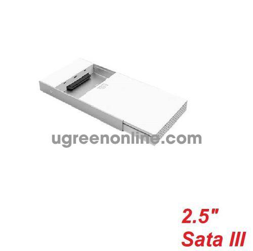 Unitek 27291 Y-3363 Type-C To Sata Iii 2.5Inch Hộp Đựng Ổ Cứng Hdd Box Màu Bạc 10027291
