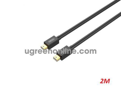 Unitek 26255 Y-C613BK 2m Cáp Mini Display Port hỗ trợ 4K màu đen 10026255