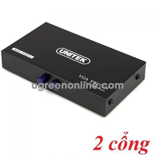 Unitek 27624 U8704 Switch Data VGA 2 IN - 1 OUT 10027624