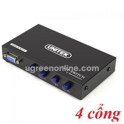 Unitek 28583 U8705 Switch Data VGA 4 IN -1 OUT 10028583