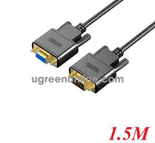 Unitek 27269 Y-C706ABK 1.5M Cáp Com 9 pin Rs232 nối dài extension 10027269