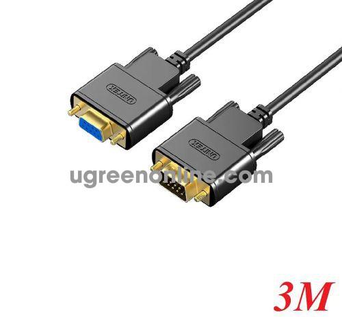 Unitek 27105 Y-C708ABK 3M Cáp Com 9 pin Rs232 nối dài extension 10027105